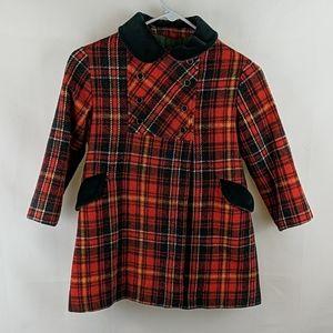 Rothschild Plaid Dress Coat